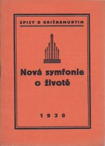 náhled knihy - Nová symfonie o životě.Spisy o Krišnamurtim