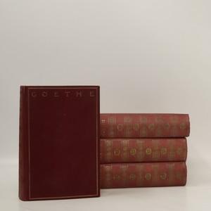 náhled knihy - Goethes Werke (4 díly v 4 svazcích)