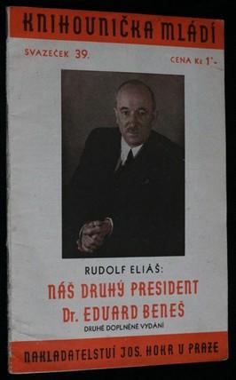 náhled knihy - Náš druhý president Dr. Eduard Beneš