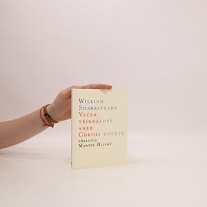 náhled knihy - Večer tříkrálový aneb Cokoli chcete