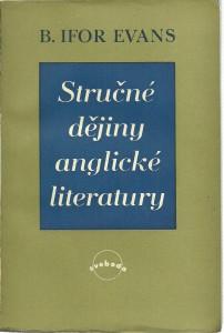 náhled knihy - Stručné dějiny anglické literatury