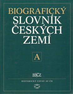 náhled knihy - Biografický slovník českých zemí. 1. sešit (písmeno A)