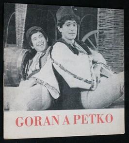 náhled knihy - Goran a Petko : hra na motivy bulharských lidových pohádek