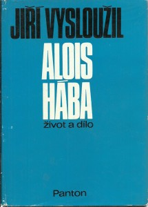 náhled knihy - Alois Hába. Život a dílo