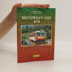 náhled knihy - Motorový vůz 810
