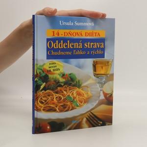 náhled knihy - Oddelená strava. 14 dňová diéta (slovensky)