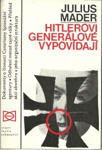 náhled knihy - Hitlerovi generálové vypovídají