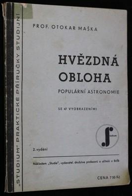 náhled knihy - Hvězdná obloha : Populární astronomie