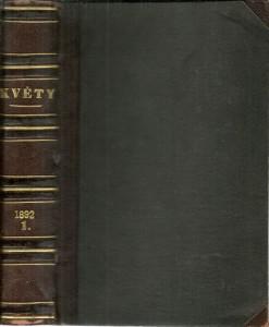 náhled knihy - Květy 1892. Ročník XIV. První pololetí