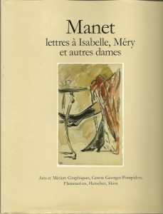 náhled knihy - Manet lettres á Isabelle, Méry et autres dames