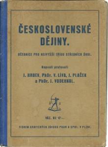 náhled knihy - Československé dějiny. Učebnice pro nejvyšší třídu středních škol