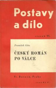náhled knihy - Český román po válce
