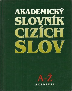 náhled knihy - Akademický slovník cizích slov