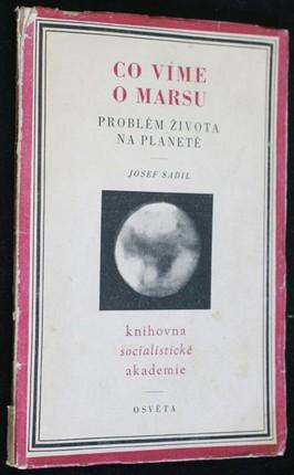 náhled knihy - Co víme o Marsu : Problém života na planetě