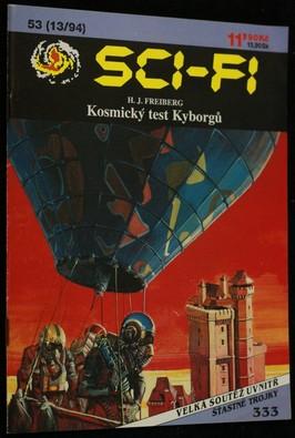 náhled knihy - Kosmický test Kyborgů