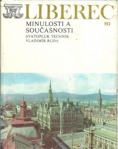 náhled knihy - Liberec minulosti a současnosti