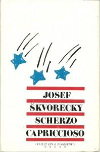 náhled knihy - Scherzo capriccioso (Veselý sen o Dvořákovi)