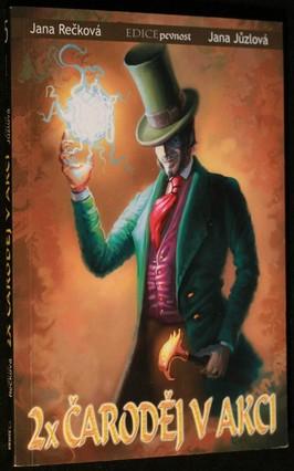 náhled knihy - 2x čaroděj v akci: Monolit, Hadí král za nic nemůže