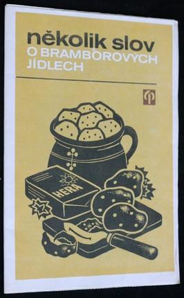 náhled knihy - Několik slov o bramborových jídlech