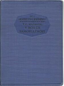 náhled knihy - V boji za samostatnost