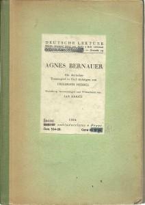 náhled knihy - Agnes Bernauer