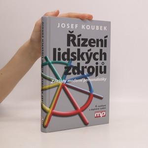 náhled knihy - Řízení lidských zdrojů : základy moderní personalistiky
