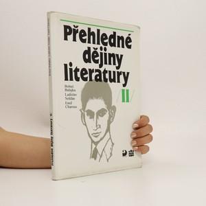 náhled knihy - Přehledné dějiny literatury. II