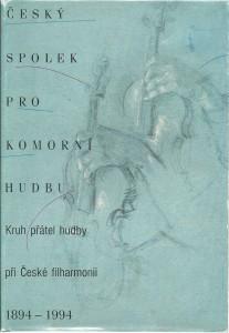 náhled knihy - Český spolek pro komorní hudbu 1894 - 1994