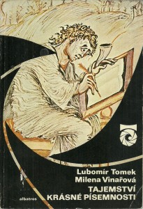 náhled knihy - Tajemství krásné písemnosti