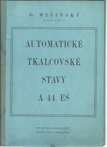 náhled knihy - Automatické tkalcovské stavy A 44, ES