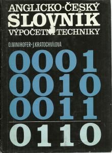 náhled knihy - Anglicko-český slovník výpočetní techniky