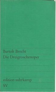 náhled knihy - Die Dreigroschenoper