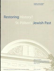 náhled knihy - Restoring History? St. Pölten's Jewish Past
