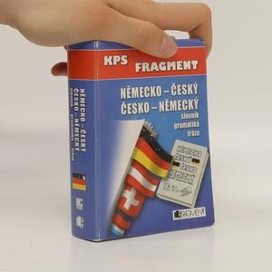 náhled knihy - Kapesní německo-český, česko-německý slovník