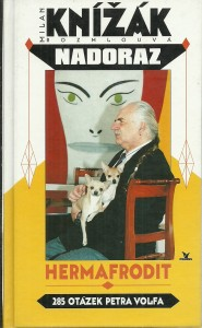 náhled knihy - Milan Knížák. Nadoraz