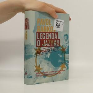náhled knihy - Legenda o jazyku : Nepomucký 1972
