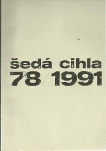 náhled knihy - Šedá cihla 78 / 1991