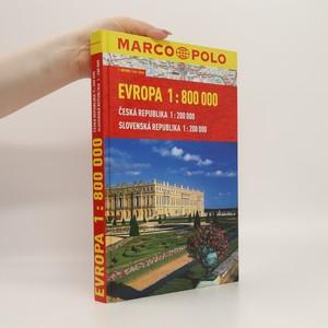 náhled knihy - Evropa 1:800000 : Česká republika, Slovenská republika : 1:200000