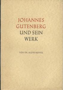 náhled knihy - Johannes Gutenberg und sein Werk