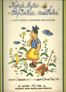 náhled knihy - Když byla Pepinka malinká. Osm dětských skladbiček pro klavír