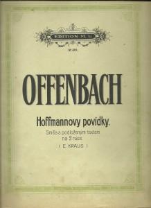 náhled knihy - Hoffmannovy povídky. Směs s podloženým textem na 2 ruce. Klavír