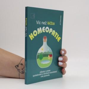 náhled knihy - Víc než léčba homeopatie