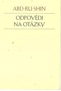 náhled knihy - Odpovědi na otázky 1924 - 1937