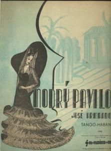náhled knihy - Modrý pavilon. Pro zpěv a klavír