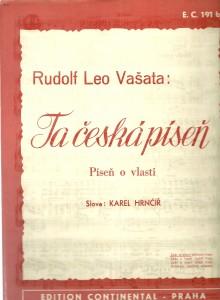 náhled knihy - Ta česká píseň. Píseň o vlasti. Zpěv a klavír
