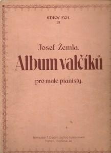 náhled knihy - Album valčíků pro malé pianisty