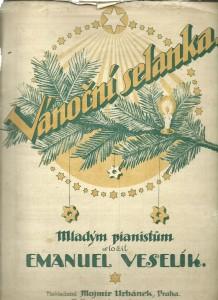 náhled knihy - Vánoční selanka. Mladým pianistům. Klavír