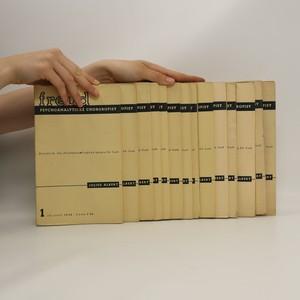 náhled knihy - Psychoanalytické chorobopisy 1.-15. díl (15 svazků, nerozřezaná brož)