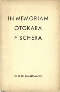 náhled knihy - In memoriam Otokara Fischera