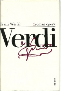 náhled knihy - Verdi. Román opery
